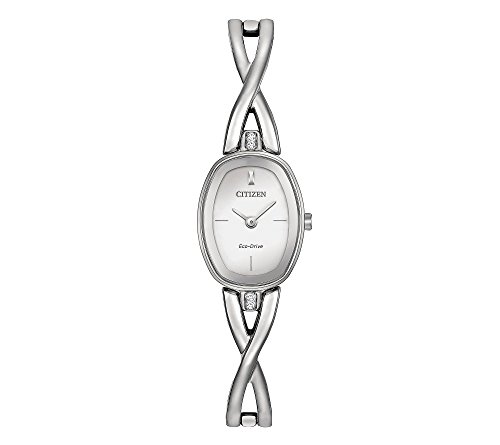 Citizen Women's Eco-Drive Stainless Steel Silhouette Bangle Watch