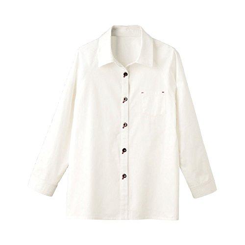 果てしない管理する慣習綿ラグラン袖ブラウス 89146-01 オフ M