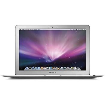Apple MacBook Air MB003LL/A 13.3 Inch Laptop (1.6 GHz Intel Core 2 Duo Processor, 2 GB RAM, 80 GB Hard Drive)