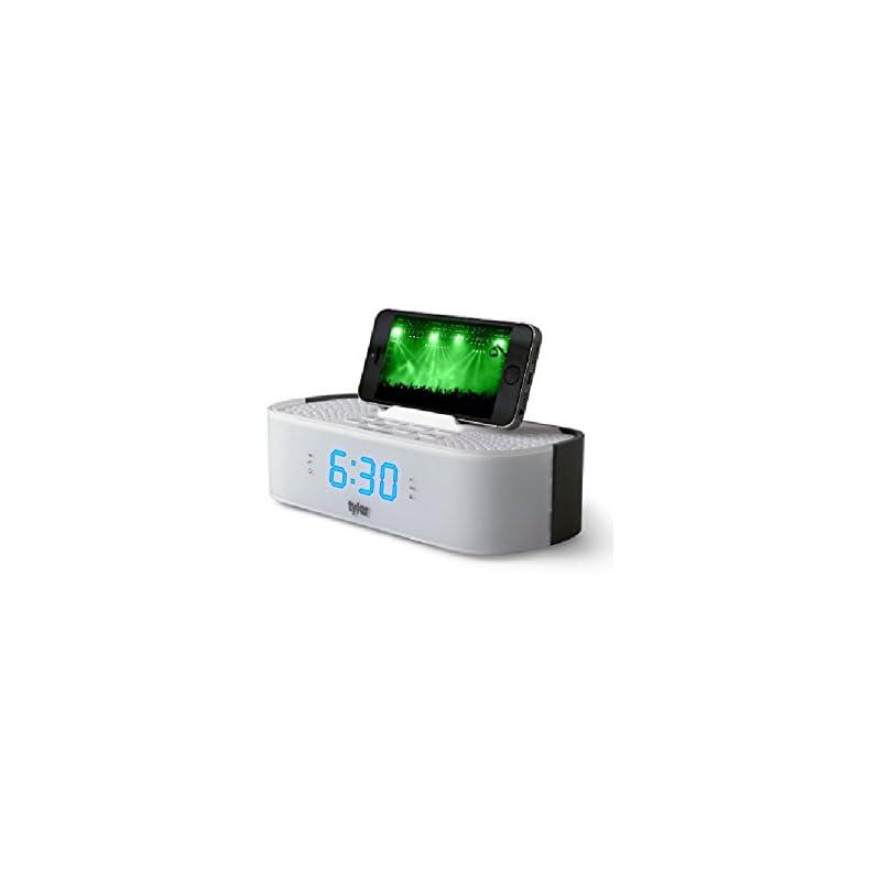 Tyler Bluetooth Alarm Clock Radio TAC501