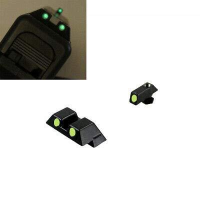 Classic Night Sights for Glock 9/40 Pistols Glow in The Dark Night Handgun Sight