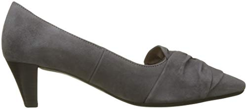 Shoes Court Womens Grey Dark Modern Knotted grey 19 Gabor Tricky Bow pZwZY