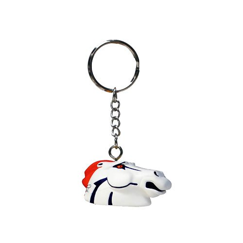 Denver Broncos Pencil - NFL Denver Broncos 4-in-1 Foam Keychain