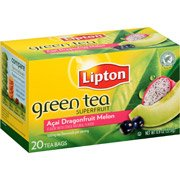 Lipton Superfruit Acai, Dragonfruit & Melon Green Tea, 20 count(Case of 2) (Tea Tea Melon Green)