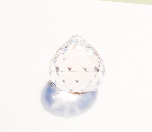 Asfour Ball Sphere 30% Lead Crystal Faceted Sphere 40mm - 1.5