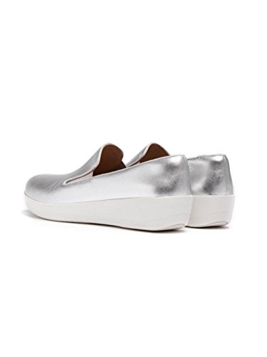 Superskate FitFlop Shoes FitFlop Silver Superskate Shoes 5tnqxvF