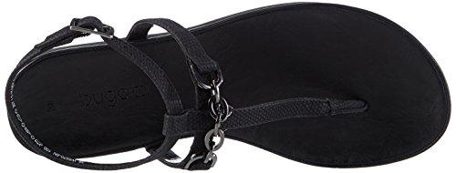 Bugatti Dames Sandalen Zwart Zwart