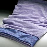 Sonoma Lavender Spa Blanket in Embroidered Lilac