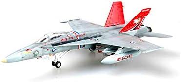 1/72スケール航空機モデル、軍用米FA-18C VFA-131合金のモデル、子供のおもちゃとギフト