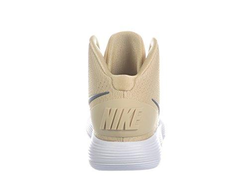 Zapatillas De Running Nike Hombres React Hyperdunk 2017 Nylon Team Gold / Dark Grey
