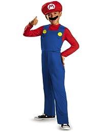 Nintendo Super Mario Brothers Mario Classic Boys Costume, Medium/7-8