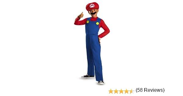 Super Mario – 430077 – Disfraz Niño clásico – 4 – 6 años – rojo ...