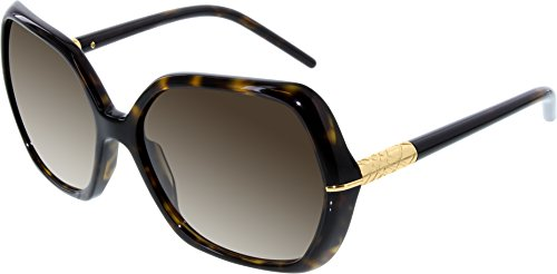 Burberry Sunglasses Be 4107 3002/13 Dark Tortoise Lens: Brown Gradient by Burberry