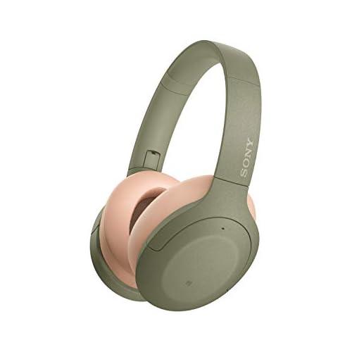 chollos oferta descuentos barato Sony WH H910N Auriculares inalámbricos Bluetooth Cancelación de Ruido LDAC hasta 35h de batería Hi Res Audio h Ear on Sonido adaptativo tecnología de Sensor de Ruido Dual DSEE HX Verde