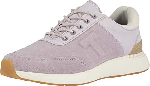 TOMS Women's Arroyo Burnished Lilac Suede/Canvas 6 B ()
