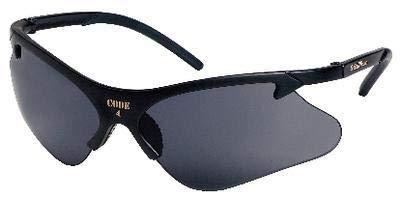 (Smith & Wesson Code 4 Safety Glasses (19835), Platinum Frame, Orange Lens, 12 Pairs/Case)