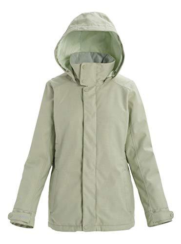 Burton Womens Jet Set Jacket, Aqua Gray, Large