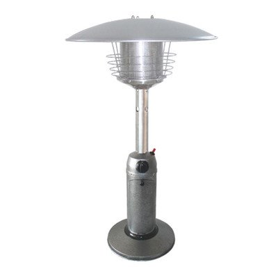 Tabletop Propane Patio Heater Finish: Hammered Silver