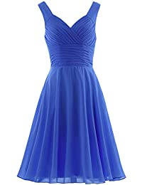 c93183f6122 Women s Pleated Sweetheart Bridesmaid Dresses A Line Cocktail Gown
