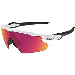 Oakley Men's Prizm Baseball Radar Ev Pitch Sunglasses, Polished White, 138 Mm