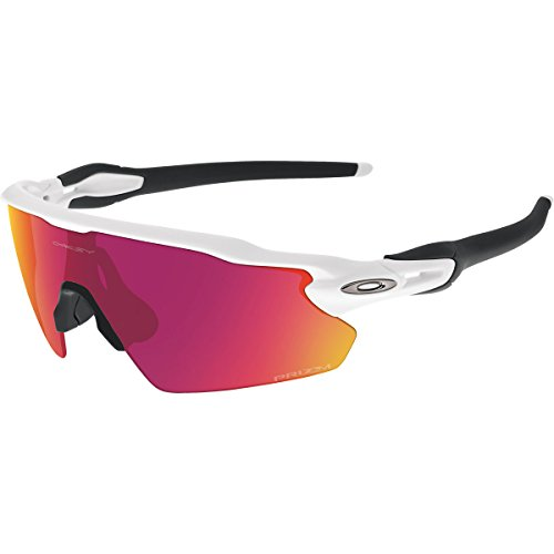 Oakley Men's Prizm Baseball Radar EV Pitch Sunglasses, Polished White, 138 - Shades Oakley