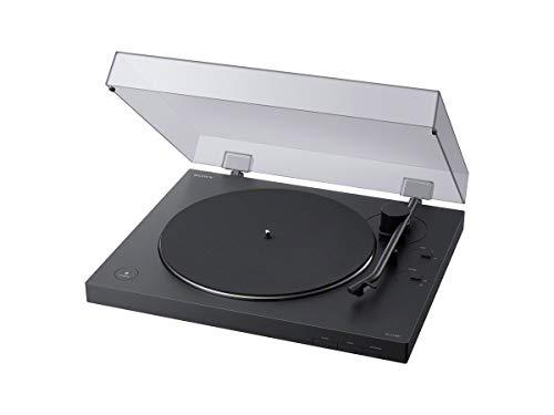 Sony PS-LX310BT – Tocadiscos (Conectividad Bluetooth, admite Salidas de línea y Fono) Negro