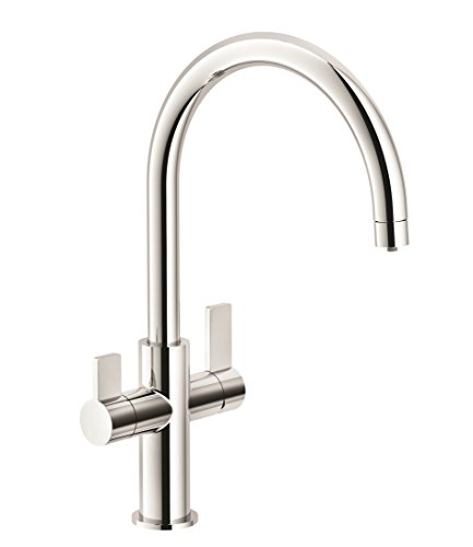 Franke FFT3100 Ambient 3-in-1 Two-Handle Water Filtration Faucet, Chrome