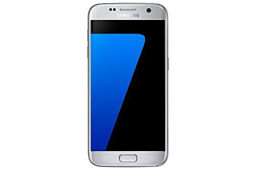 Samsung Galaxy S7 G930FD Dual Sim 32GB LTE Factory Unlocked - International Version - Silver Titanium