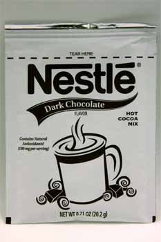 Nestle Dark Chocolate Flavor Hot Cocoa Mix Case Pack 150 by Nestle