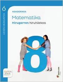 CDN MATEMATICAS 6 3 PRM EUSK