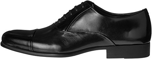Kenneth Cole New York Men's Command Chief Cap Toe Shoe Oxford, Black, 11 M US