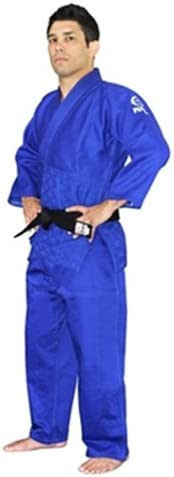 Fujiシングル織り柔道、ブルー  Size 0000