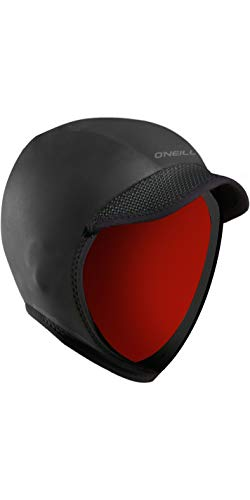O Neill Squid Lid 3mm Wetsuit Hood Medium Black