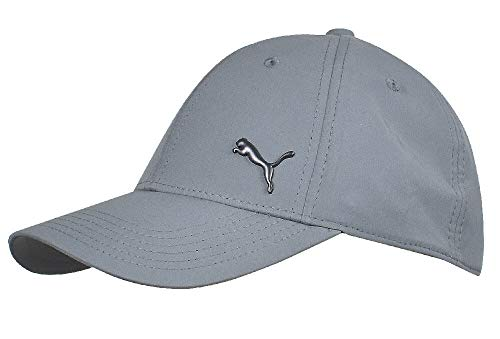 PUMA- Evercat Alloy Stretch Fit Hat Dark Gray Size Large/Extra Large
