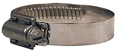 Dixon HTM200 Stainless Steel Hi Torque Clamp with Stainless Steel 410 Screw 5//8 Band Width 1-1//4 to 2-1//8 Hose OD