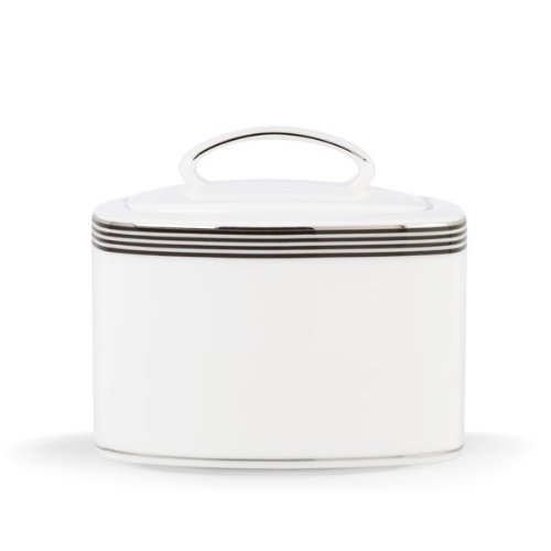 Kate Spade Parker Place Sugar Bowl W/Lid