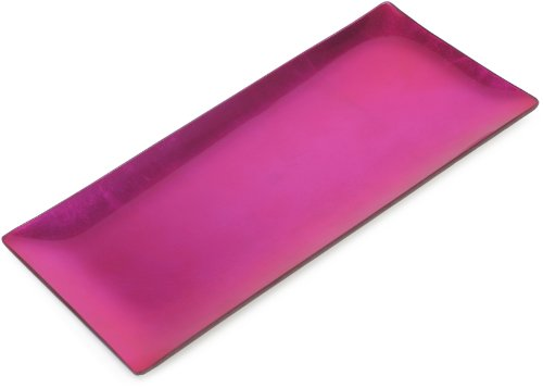 Momo Panaches Condi Tray Hot Pink 13 1 2 By 6 1 2 Inches