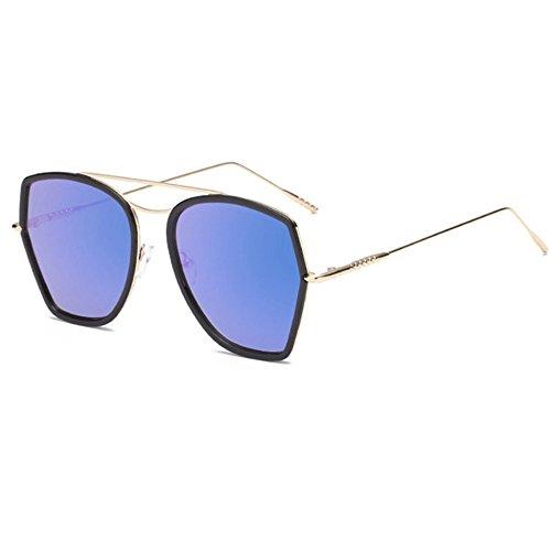 Aoligei Ladies tendance Bright couleur lunettes de soleil lunettes de soleil btitX