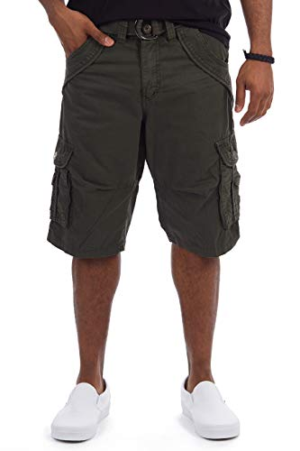 - X RAY Mens Tactical Bermuda Cargo Shorts Camo and Solid Colors 12.5