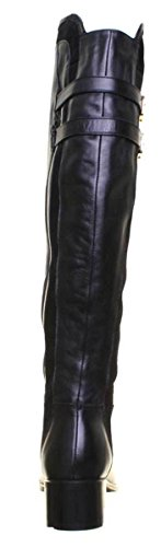 Justin Leather Knee 100 Black Womens The Freya Boots Reece Over rwIOarq