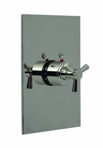 Santec Modena II Polished Chrome Thermostatic Shower - Trim Only W/ Tx Handle (Includes 3/4