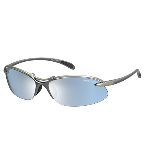 Swans Sunglasses Airless Wave SA-516 CPG [Made In - Made Japan Sunglasses In