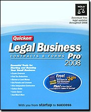 Quicken Legal Business Pro 2008 Smb Bible 140 Contracts & forms