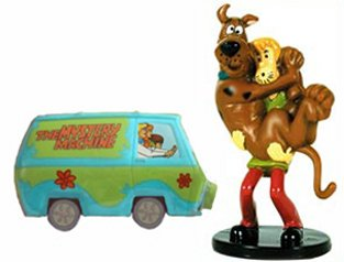 Amazoncom Scooby Doo Cake Toppers 2 Piece Set Kitchen Dining