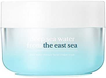 NOONI Deep Water Therapy Ceramide Facial Cream Fresh #Oily Skin 50g, 1.76 Ounces, Watery Gel Cream, Lightweight, Daytime Moisturizer, Non-Comedogenic, Daily Skincare