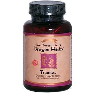 Tribulus Terrestris - 100 capsules, 500 mg Chaque comprimé