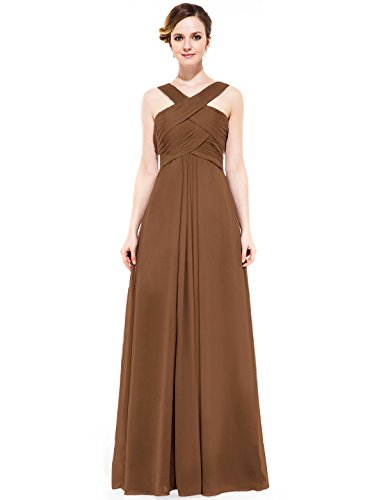 Brown Evening Gowns - 6