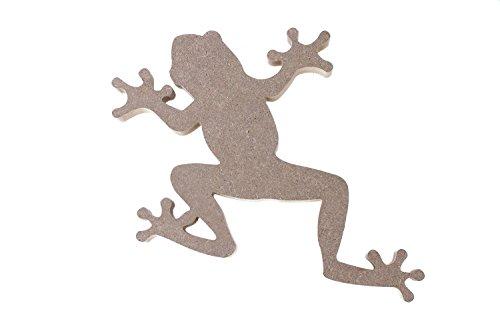 Milltown Merchants Frog MDF Plaque, 12 Inch x 9 Inch (30.48 cm x 22.86 - 9 Inch X Plaque 12 Inch