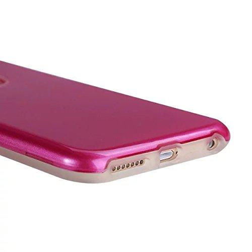"Iphone 6 Coque,Iphone 6S 4.7 ""Coque,Lantier double couche TPU Transparent + PC dur Bumper Shock Absorbing et Scratch Resistant Cover pour Apple Iphone 6/6S 4.7"" Red"