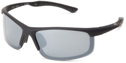Ironman Endorphins Semi-Rimless Sunglasses,Black Rubberized,150 - Ironman Sun Glasses